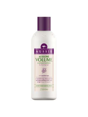Бальзам-ополаскиватель Aussome Volume для тонких волос 250мл AUSSIE. Цвет: бежевый