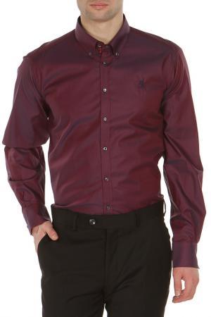 Рубашка Otto Kern. Цвет: фиолетовый