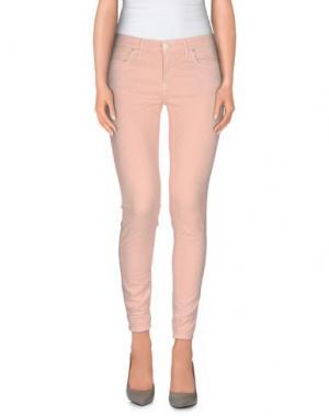 Повседневные брюки OAKS. Цвет: розовый