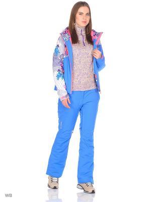 Куртка Stayer. Цвет: лазурный, белый