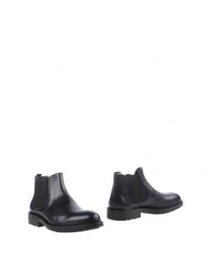 Полусапоги и высокие ботинки ZERO_571. Цвет: темно-синий