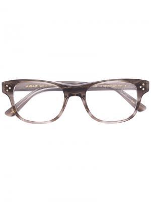 Очки Zetz Moscot. Цвет: коричневый