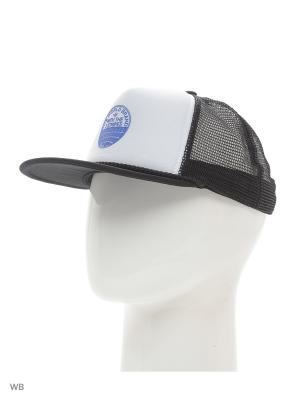 Бейсболка  H TRUCKER CAP BLACK/WHITE Adidas. Цвет: белый, синий