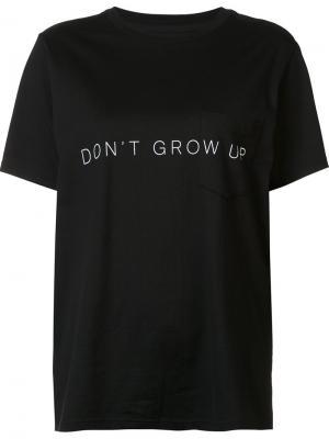 Dont grow up T-shirt The Soloist. Цвет: чёрный