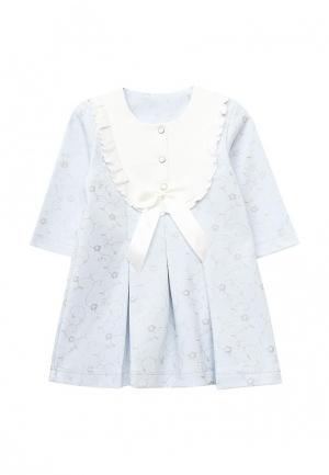 Платье Мамуляндия. Цвет: голубой