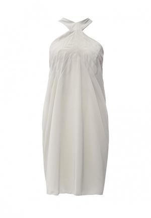 Платье Byblos. Цвет: бежевый