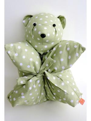 Декоративная подушка Mammi. Цвет: зеленый