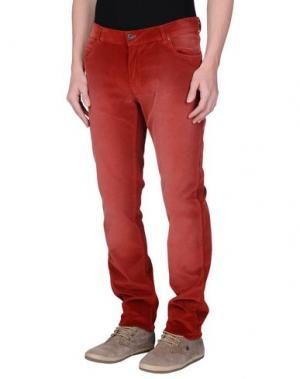 Повседневные брюки BROOKSFIELD. Цвет: кирпично-красный
