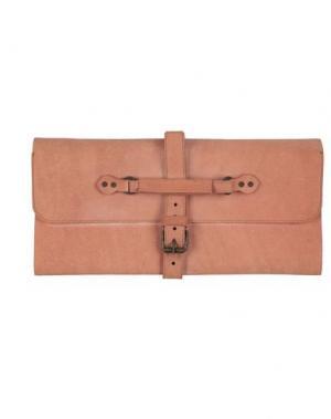Дорожная сумка CAMPOMAGGI. Цвет: желто-коричневый