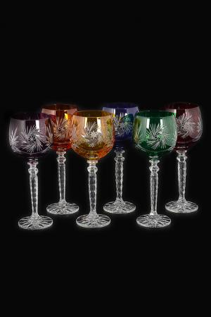 Набор бокалов для вина 220 мл Bohemia. Цвет: прозрачный
