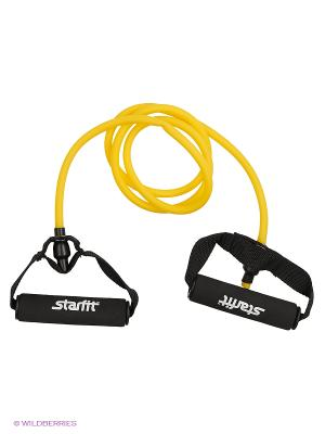 Эспандер многофункциональный STARFIT ES-602 6*9*1400 мм, желтый. Цвет: желтый