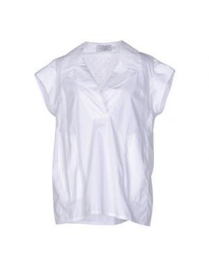 Блузка PAOLO ERRICO. Цвет: белый