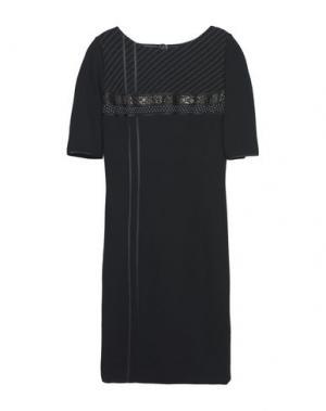 Платье до колена CAILAN'D. Цвет: черный