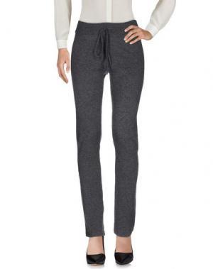 Повседневные брюки BE YOU by GERALDINE ALASIO. Цвет: свинцово-серый