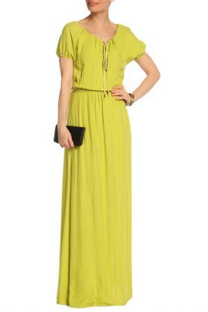 Платье Mix Ray. Цвет: зеленый