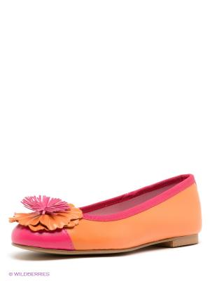 Балетки El Tempo. Цвет: оранжевый