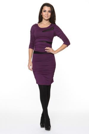 Облегающие платье с прозрачными вставками Piamente. Цвет: 95% вискозы, 5% эластан