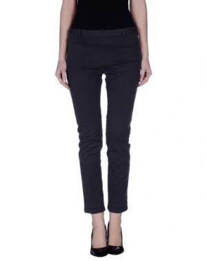 Повседневные брюки ..,MERCI. Цвет: темно-фиолетовый