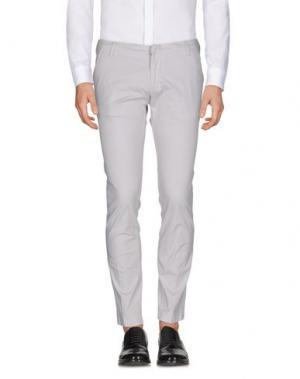 Повседневные брюки MICHAEL COAL. Цвет: светло-серый