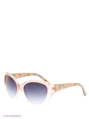 Солнцезащитные очки TOUCH. Цвет: желтый, персиковый