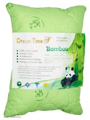 Подушка Dream time. Цвет: зеленый