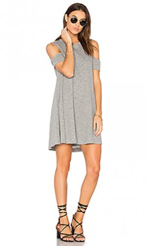 Мини платье eads Feel the Piece. Цвет: серый