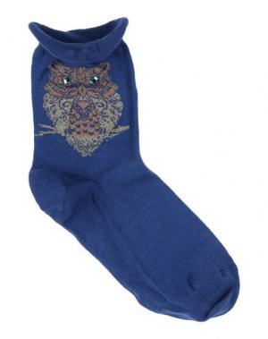 Короткие носки CHIC APPEAL by DèPio. Цвет: синий