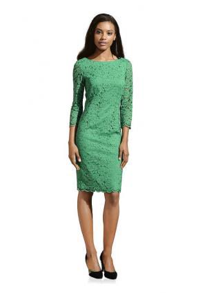 Кружевное платье PATRIZIA DINI. Цвет: изумрудный, красный, темно-синий, черный