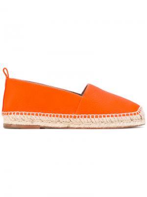 Classic espadrilles Anya Hindmarch. Цвет: жёлтый и оранжевый