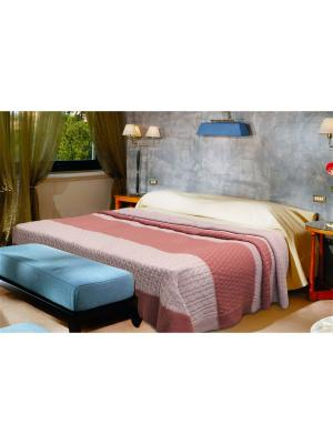 Плед Pigtail Color 1,5 сп. Buenas Noches. Цвет: голубой, молочный, синий