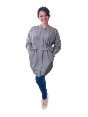 Куртка Minimum. Цвет: серый