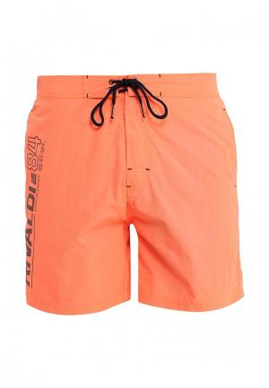 Шорты для плавания Rivaldi. Цвет: оранжевый