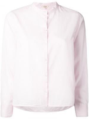 Рубашка Siro Bellerose. Цвет: розовый и фиолетовый