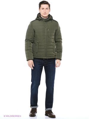 Куртка Trussardi. Цвет: хаки