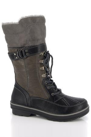 Высокие ботинки Kimberfeel. Цвет: коричневый