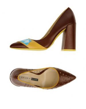Туфли CHIARINI BOLOGNA. Цвет: темно-коричневый