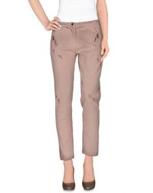 Повседневные брюки TOY G.. Цвет: светло-коричневый
