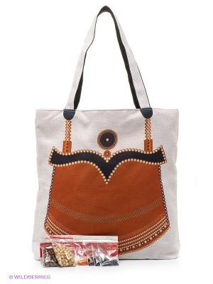 Набор для шитья и вышивания Янтарь Матренин Посад. Цвет: коричневый, молочный
