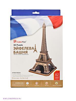 3D Пазл Эйфелева башня CubicFun. Цвет: бежевый