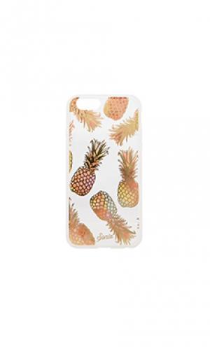 Чехол на iphone 6 liana peach Sonix. Цвет: металлический золотой