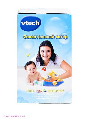 Игрушка Плавающий корабль Vtech. Цвет: голубой, желтый