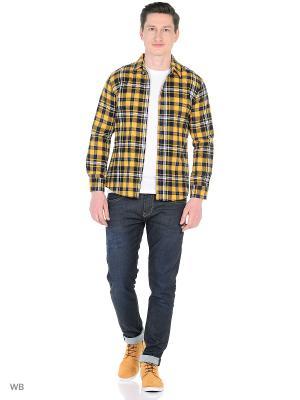 Рубашка VipDressCode. Цвет: желтый