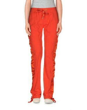 Повседневные брюки GAI MATTIOLO. Цвет: оранжевый
