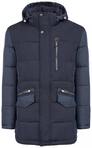 Фактурная утепленная куртка Urban Fashion For Men