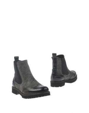 Полусапоги и высокие ботинки SETTANTATRE LR. Цвет: серый