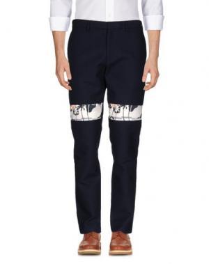 Повседневные брюки OPENING CEREMONY. Цвет: темно-синий