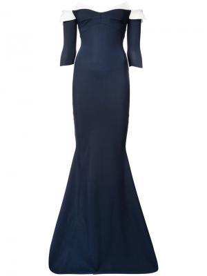 Платье Mae Chiara Boni La Petite Robe. Цвет: синий