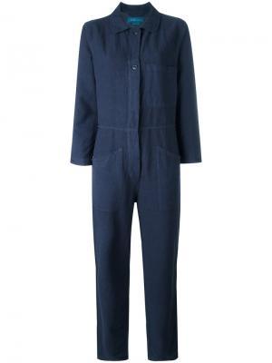 Комбинезон Eames Mih Jeans. Цвет: синий