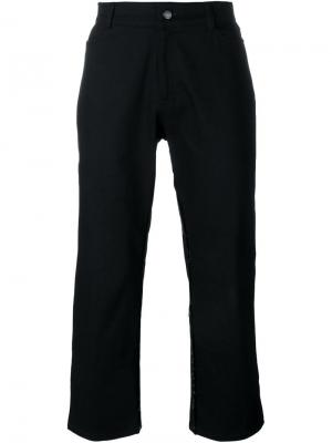 Укороченные брюки Mow. Цвет: чёрный