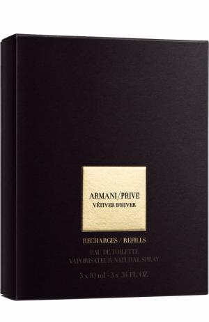 Туалетная вода Armani Prive Vetiver DHiver Refills Giorgio. Цвет: бесцветный